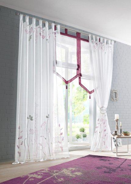 gardinen voile schlaufen wei preisvergleich die besten angebote online kaufen. Black Bedroom Furniture Sets. Home Design Ideas