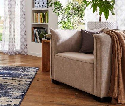 Polsterm bel und hocker mit bonprix sitzen sie bequem for Sessel bequem modern