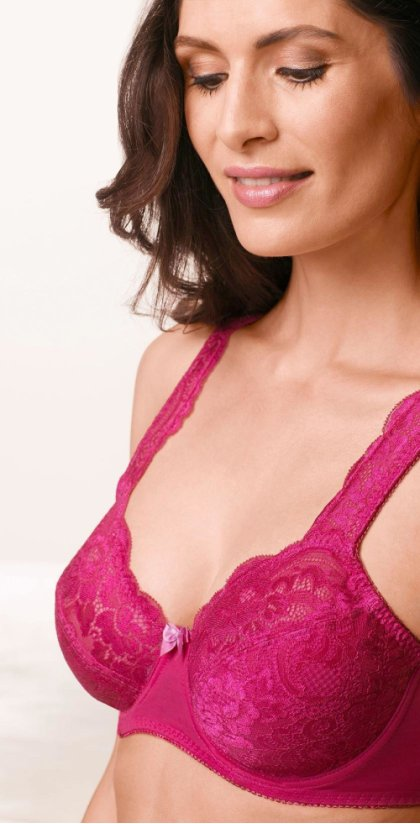 Damen - Pink Collection Minimizer-BH - dunkelpink