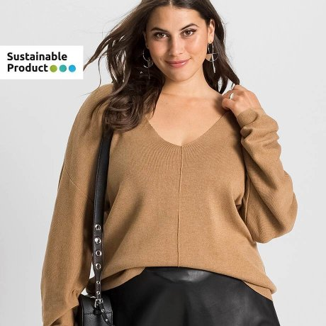 Damen - Grosse Grössen - Mode - Pullover & Strickjacken - Pullover