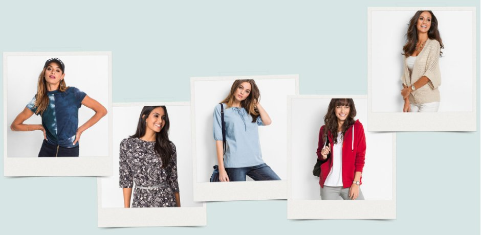 Damen - Mode - Shoppen nach Outfits