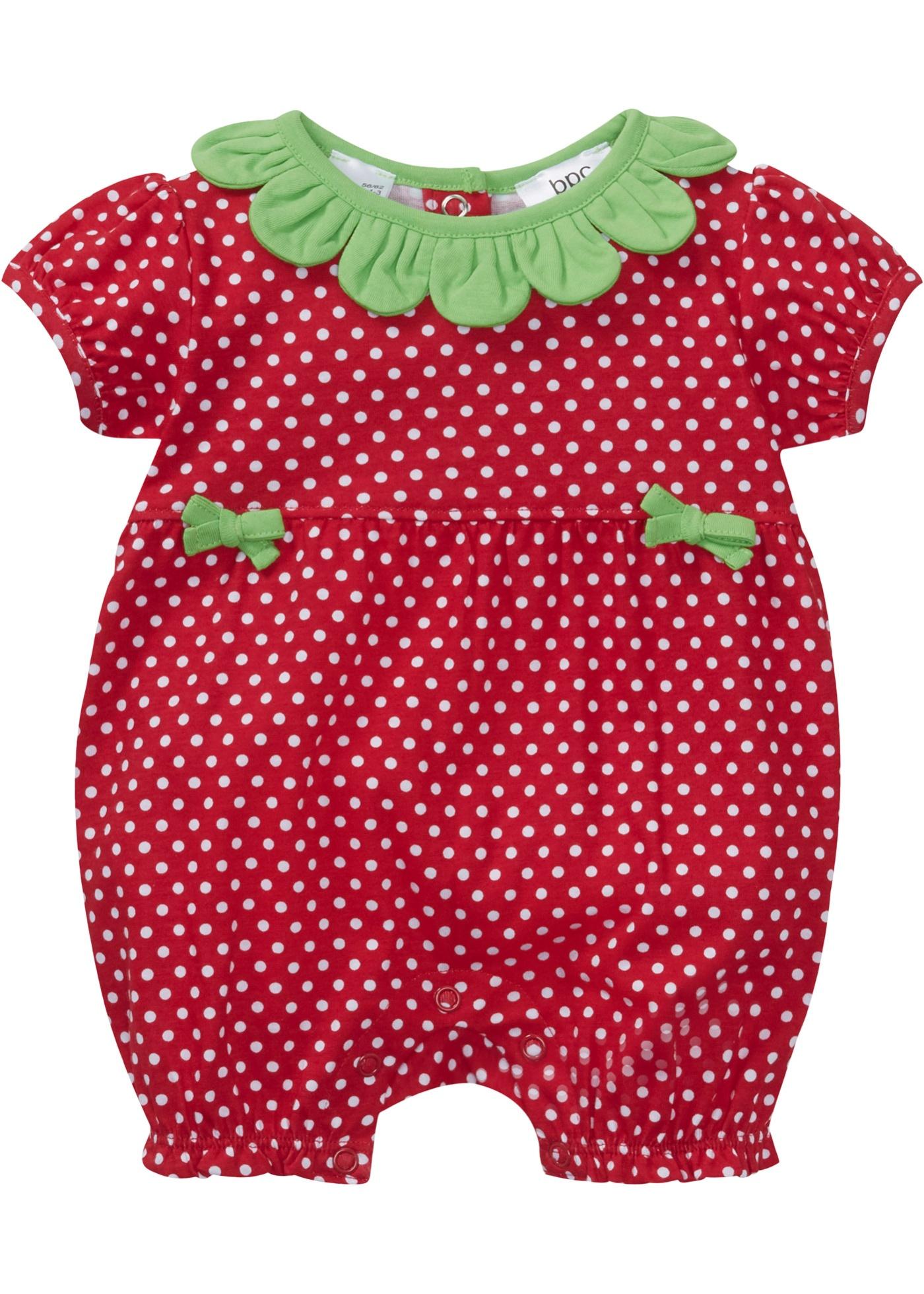Image of Baby Kurzarm Overall Bio-Baumwolle