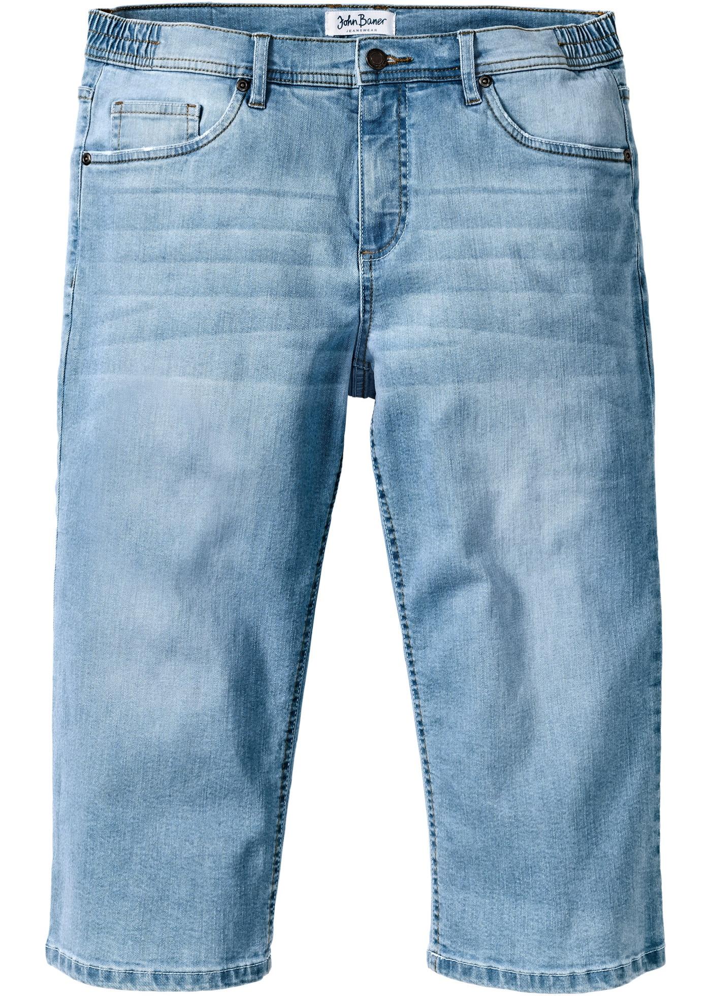 Image of 3/4 Regular Fit Komfort-Stretchjeans
