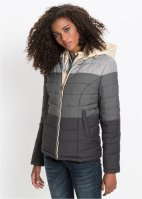 Steppjacke mit 2-in-1-Optik, John Baner JEANSWEAR