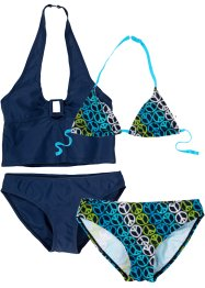 Bikini + Tankini Mädchen (4-tlg. Set), bpc bonprix collection