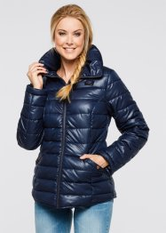 Steppjacke mit Stehkragen, bpc bonprix collection, ahornrot