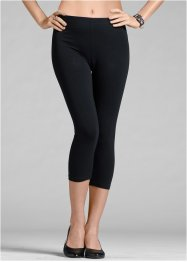 Lot de 2 leggings corsaires, BODYFLIRT, noir + noir