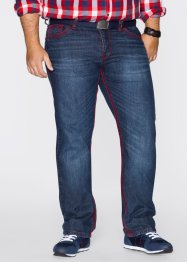 Jeans STRAIGHT, RAINBOW, dark blue stone used