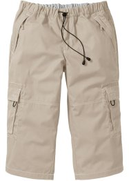 3/4-Hose Loose Fit, bpc bonprix collection, beige