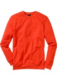 Herren Sweatshirt, Regular Fit, bpc bonprix collection, blutorange