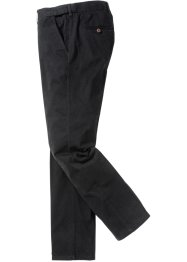 Chino extensible Regular Fit Straight, bpc selection, noir