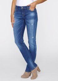 Stretch-Jeans im Slim Fit, John Baner JEANSWEAR, blau