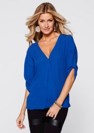 Bluse, BODYFLIRT boutique, blau