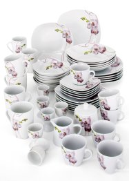 "Geschirr Set ""Orchidee"", bpc living"