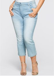 Jean extensible 7/8, bpc selection, bleu bleached