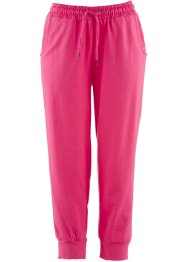 3/4-Jersey-Hose, bpc bonprix collection, dunkelpink