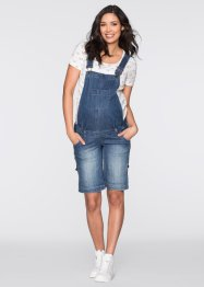 Salopette-short en jean de grossesse, bpc bonprix collection