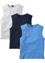 Muskelshirt im 3er-Pack, bpc bonprix collection