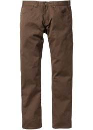 Pantalon 5 poches Regular Fit, droit, bpc bonprix collection, marron