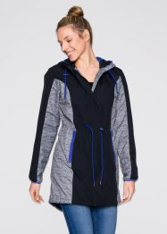 Leichte Funktions-Outdoorjacke, bpc bonprix collection, schwarz
