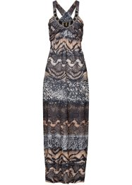 Kleid, BODYFLIRT boutique, braun multi