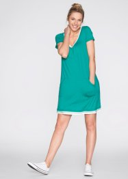 Strandkleid, bpc bonprix collection, neonrosa meliert