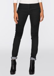 Skinny Stretchjeans, RAINBOW, black denim