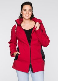 Stretch-Softshelljacke, bpc bonprix collection, schiefergrau