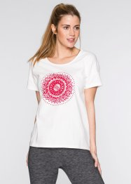 Wellness-Shirt, bpc bonprix collection, wollweiss