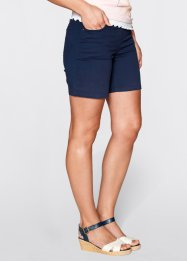 Shorts mit Elastik-Bund, bpc bonprix collection, dunkelblau