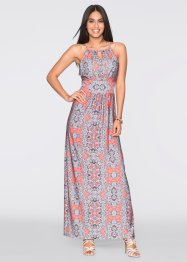 Maxi-Kleid, BODYFLIRT, orange bedruckt