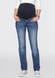 Umstandsjeans mit schmalem Bein, bpc bonprix collection, blue stone