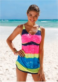 Robe de bain, RAINBOW, batik multicolore