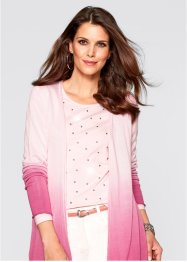 Strickjacke, bpc selection, zartrosa/mattpink