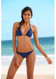 Triangel Bikini, bpc bonprix collection, dunkelblau