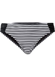 Bas de maillot, bpc bonprix collection, noir/blanc rayé