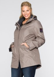 Manteau outdoor fonctionnel 3en1, bpc bonprix collection, taupe