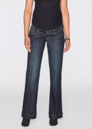 Umstandsjeans, mit Schlag, bpc bonprix collection, darkblue stone