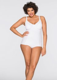 Formbody mit Shape-Effekt, bpc bonprix collection, weiss