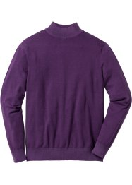 Stehkragenpullover Regular Fit, bpc selection, weinbeere