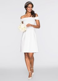 Robe, BODYFLIRT boutique, blanc