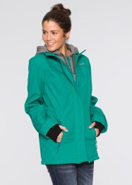 Softshell-Langjacke in 2-in-1-Optik, bpc bonprix collection