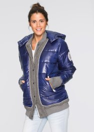 College-Steppjacke, bpc bonprix collection, ahornrot