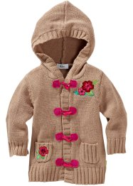 Strickjacke, bpc bonprix collection, camel
