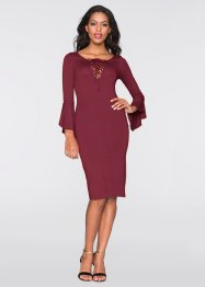 Kleid, BODYFLIRT boutique, dunkelrot