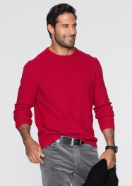 Pullover Regular Fit, bpc bonprix collection, dunkelrot