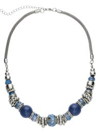 Collier, bpc bonprix collection, blau/silberfarben