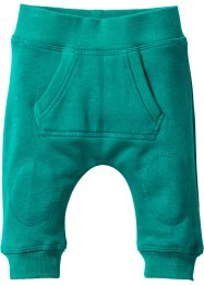 Baby-Sweathose Bio-Baumwolle, bpc bonprix collection, dunkelsmaragd