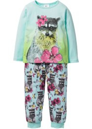 Pyjama (Ens. 2 pces.), bpc bonprix collection, menthe pastel