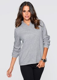 Fleece-Pullover, bpc selection, zartrosa